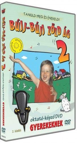 Zónai Tibor - BÚJJ-BÚJJ ZÖLD ÁG 2 oktató-képző DVD gyerekeknek