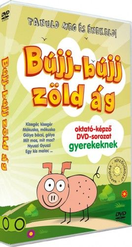 Zónai Tibor - BÚJJ-BÚJJ ZÖLD ÁG oktató-képző DVD gyerekeknek