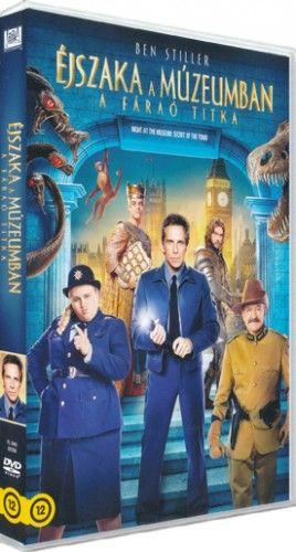 ShawnLevy - Éjszaka a múzeumban - a Fáraó titka-DVD
