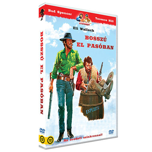 GiuseppeColizzi - Bosszú El Pasóban - DVD