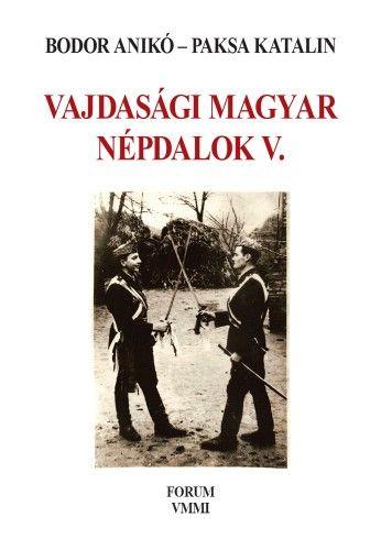 Bodor Anikó - Vajdasági magyar népdalok V.