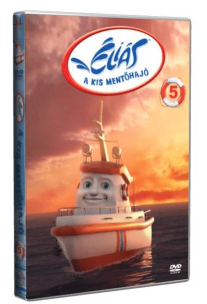 Éliás, a kis mentőhajó 5. - DVD