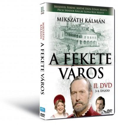 Fekete város II. - DVD