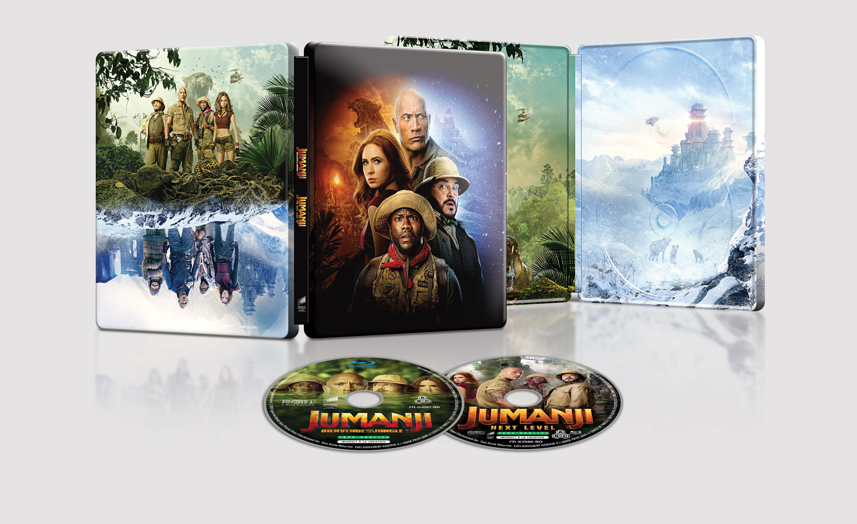 Jumanji 1-2. - Blu-ray Steelbook
