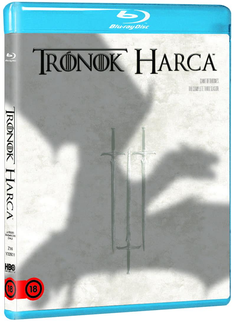 Trónok harca: 3. évad (5 BD) - Blu-ray