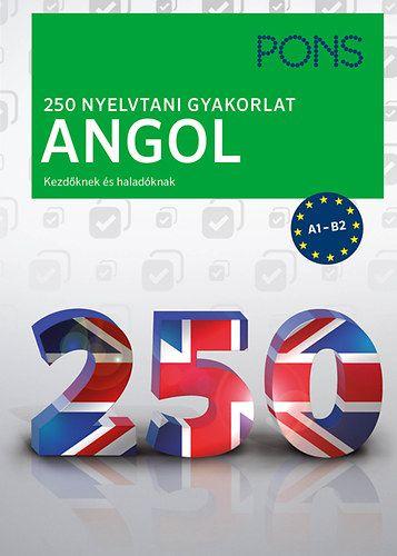 Christina Cott - PONS 250 Nyelvtani gyakorlat Angol