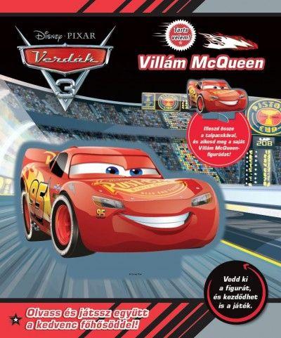 Disney - Verdák 3 - Tarts velem! - Villám McQueen