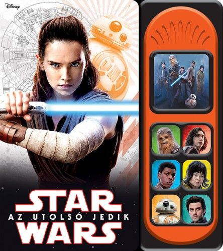 Disney - Star Wars - Az utolsó jedik - hangmodulos könyv