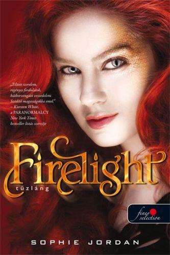 Sophie Jordan      - Firelight - Tűzláng - Puhatábla