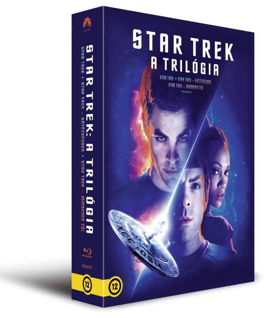 J.J.Abrams - Star Trek: A trilógia (3 BD) - Blu-ray
