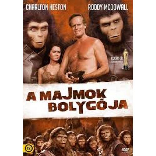 Majmok bolygója - DVD