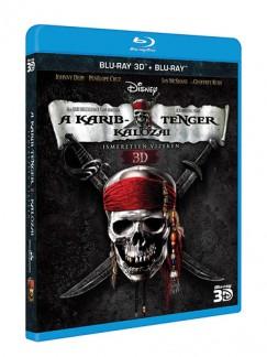 Rob Marshall - A Karib-tenger kalózai 4. – Ismeretlen vizeken (BD3D + BD) - Blu-ray
