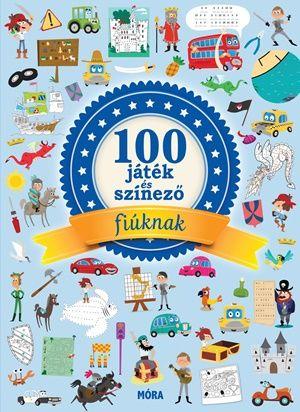 Mathilde Paris - 100 játék és színező fiúknak