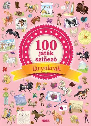 Adora Doriane Soukiassian - 100 játék és színező lányoknak