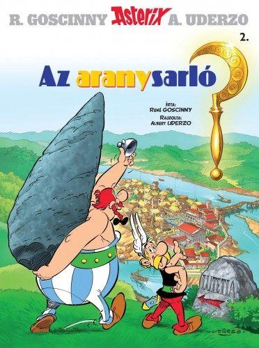 René Goscinny - Asterix 2. - Az aranysarló