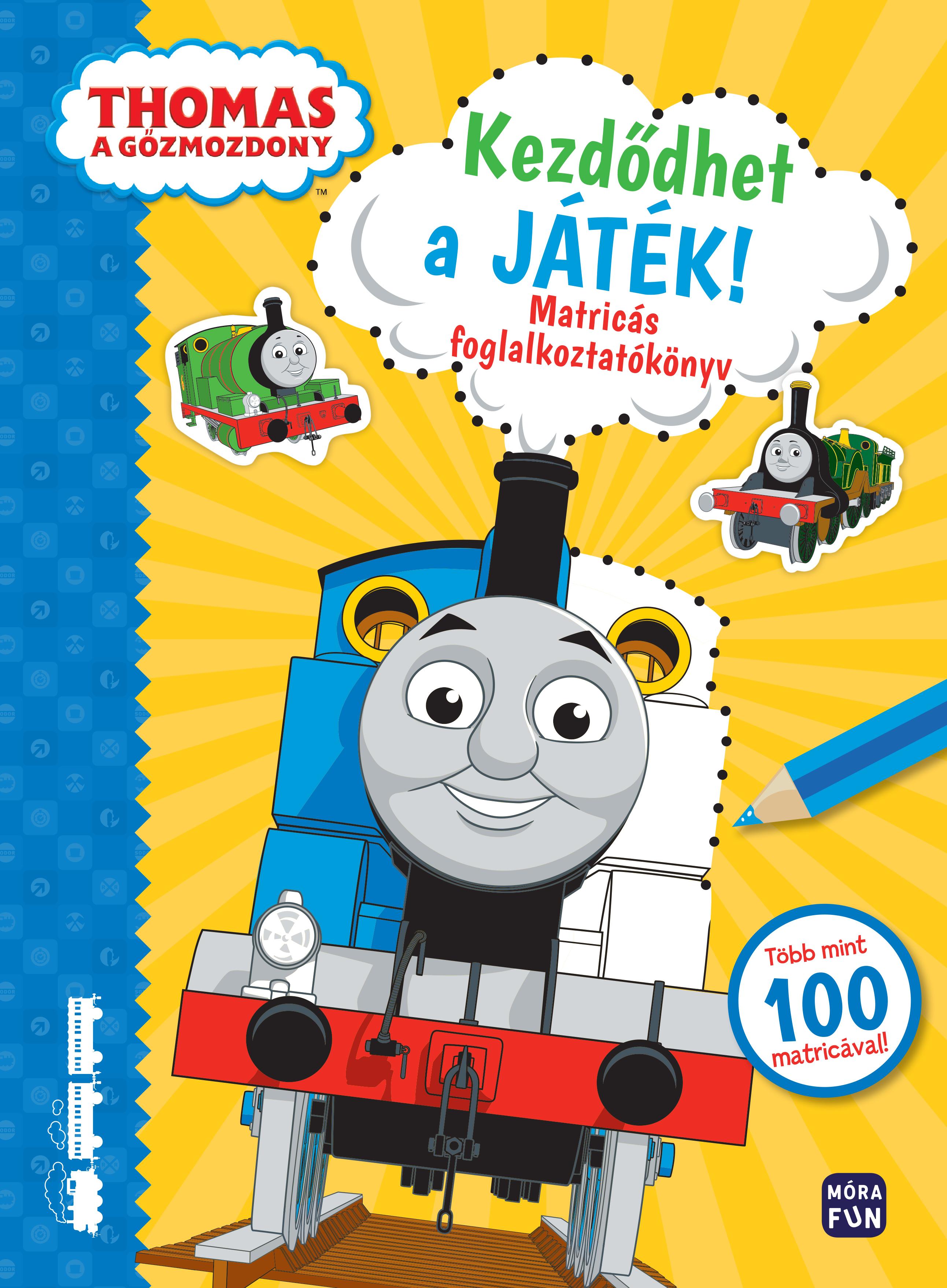 Thomas, a gőzmozdony - Kezdődhet a játék