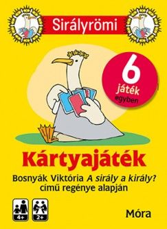 Bosnyák Viktória - Sirály Römi kártyajáték + rejtvényfüzet