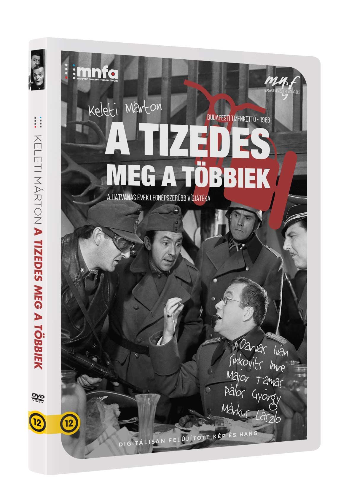 A tizedes meg a többiek (MNFA kiadás) - DVD