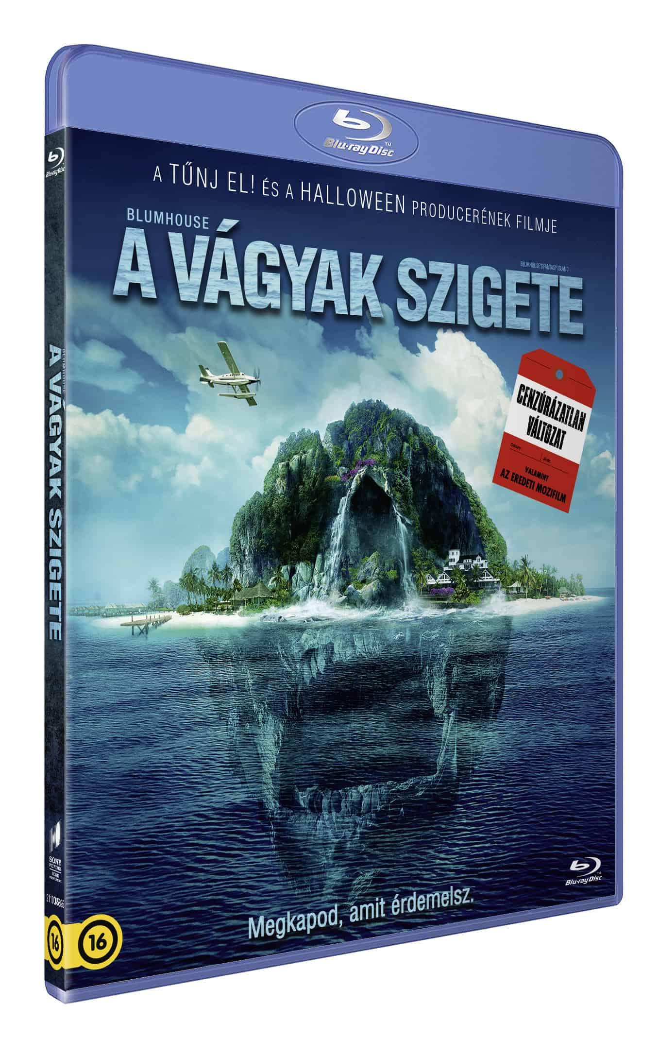 A vágyak szigete (mozi- és cenzúrázatlan változat) - Blu-ray