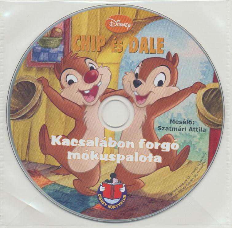 Chip és Dale - Kacsalábon forgó mókuspalota - Hangoskönyv