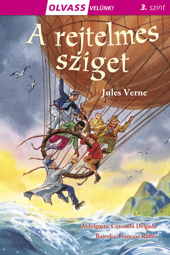 Jules Verne - Olvass velünk! (3) - A rejtelmes sziget