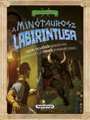 David Glover - A Minótaurosz labirintusa