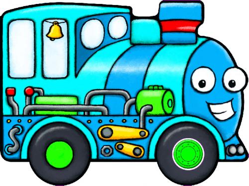 MÁR EDIT - Berregő járművek - Vonat