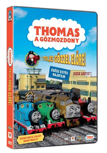 Thomas  - Teljes gőzzel előre - DVD