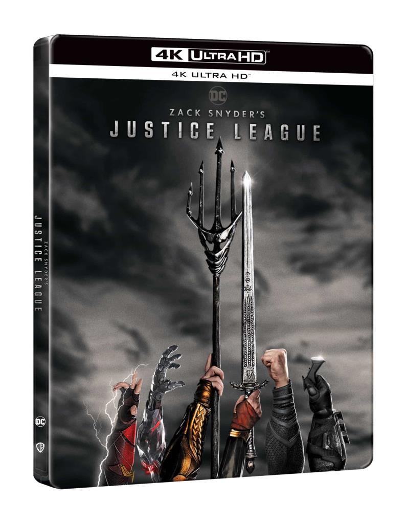 Zack Snyder: Az Igazság Ligája (2021) (2 UHD) - limitált, fémdobozos változat (steelbook)