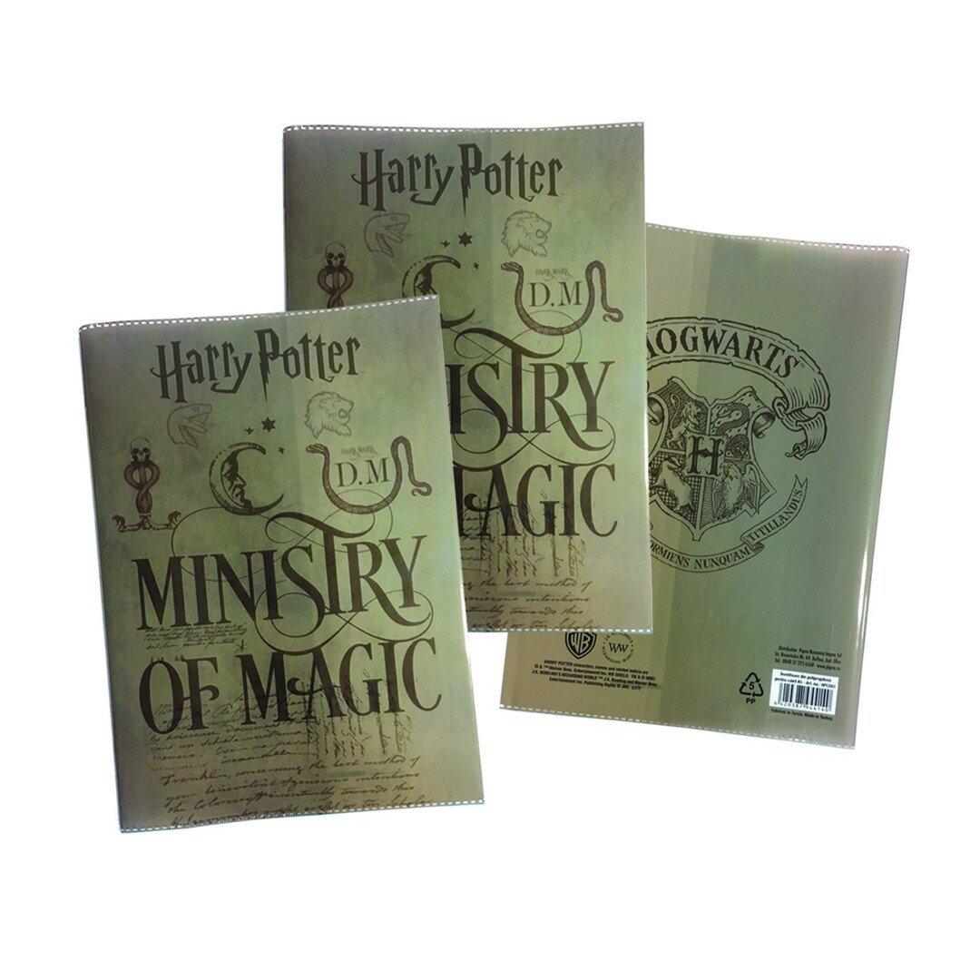 Füzetborító A5, műanyag, színes Harry Potter
