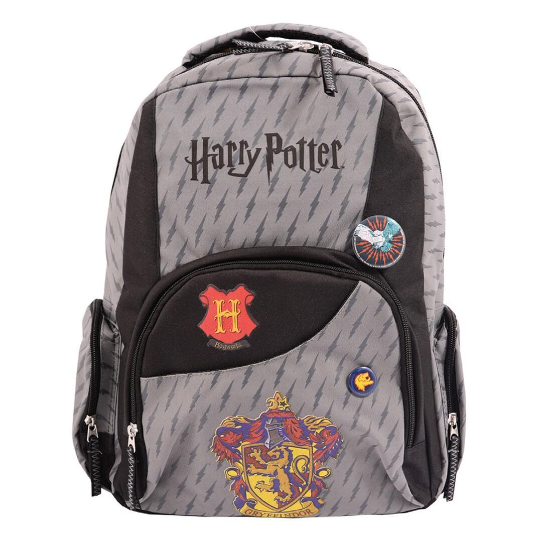 Hátizsák, teens szürke, Harry Potter
