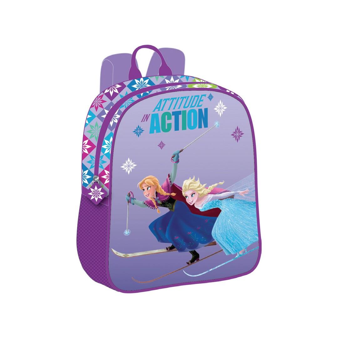 Óvodás mini-hátizsák, lila, Disney Frozen