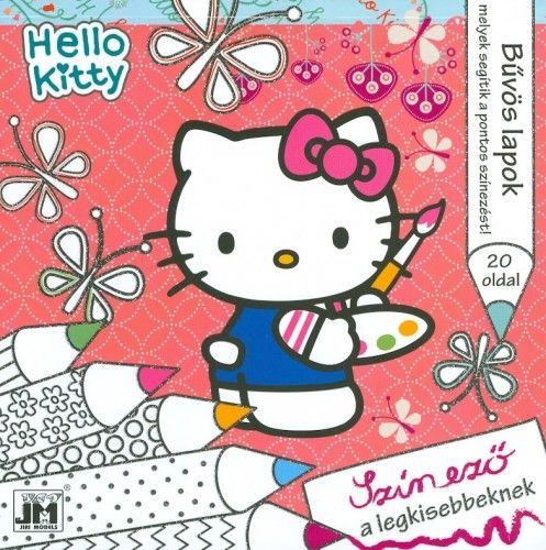 Hello Kitty - 20x20 csillám színező