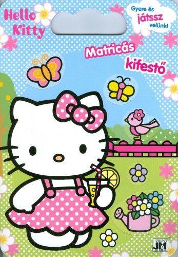 Hello Kitty - A4 színező mappa