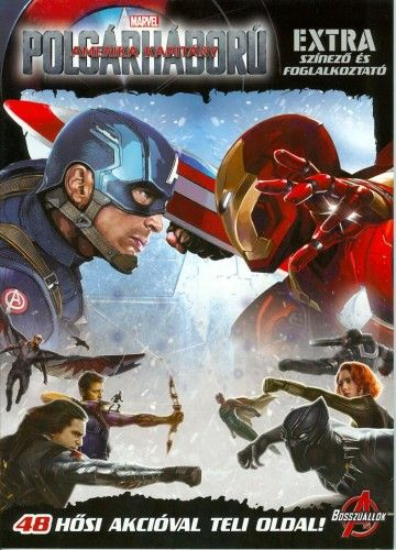 Amerika Kapitány - Polgárháború