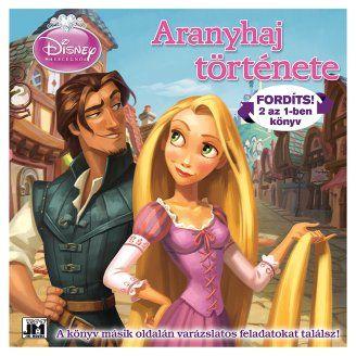 Disney - Disney Hercegnők - Aranyhaj története 2 az 1-ben könyv és foglakoztató
