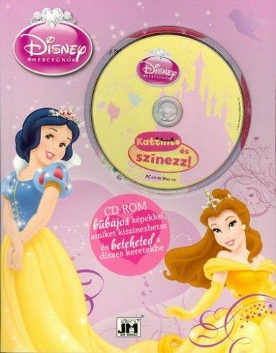 Disney - Disney Hercegnők - A4 színező szoftverrel
