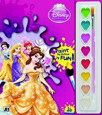 Disney - Disney Hercegnők - A5 kifestő festőkészlettel