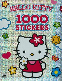 Hello Kitty - A4 1000 matricás színező