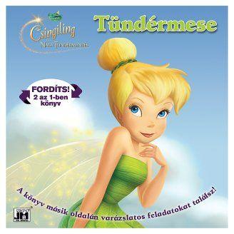 Disney - Disney Tündérek - Csingiling és a  2 az 1-ben könyv és foglakoztató