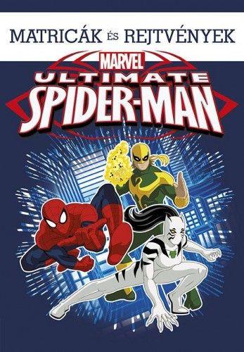 Ultimate Spider-Man - Matricák és rejtvények
