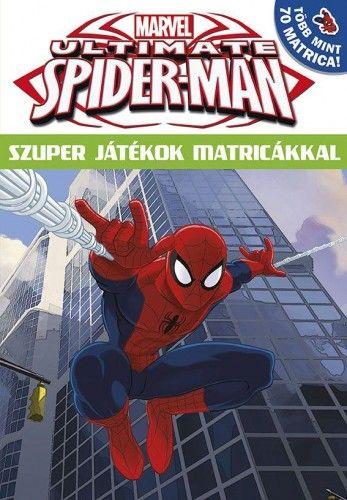 Ultimate Spider-Man - Szuper játékok matricákkal