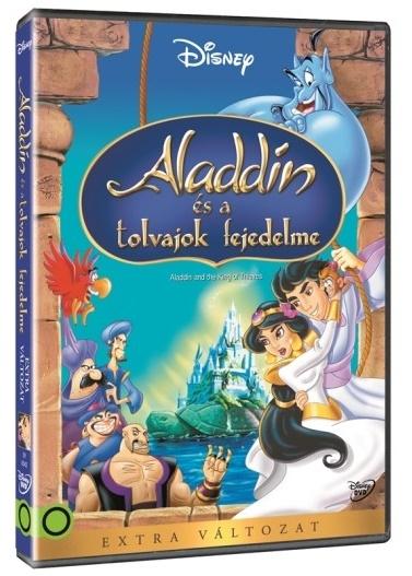 Aladdin és a tolvajok fejedelme - DVD