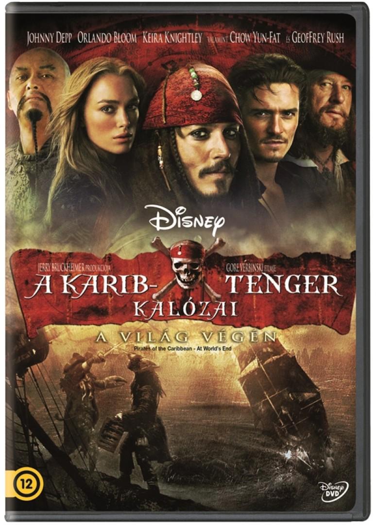 A Karib-tenger kalózai - A világ végén - Egylemezes változat - DVD