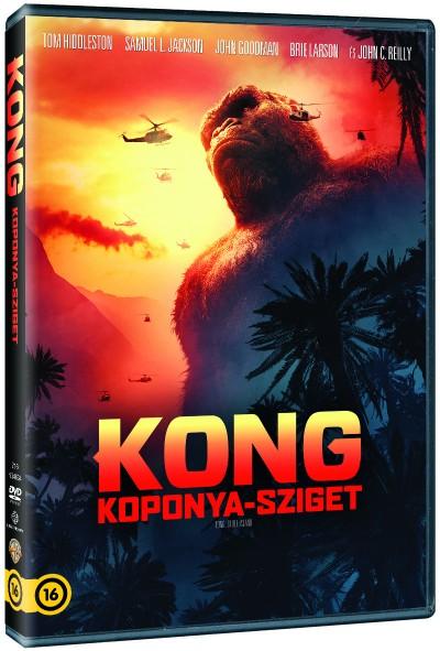 Kong: Koponya-sziget - DVD