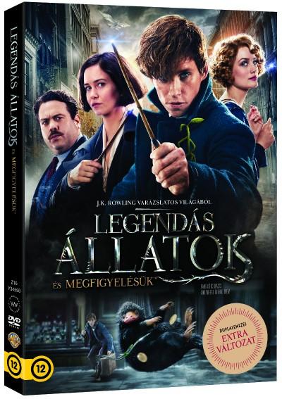 Legendás állatok és megfigyelésük - duplalemezes extra változat - 2 DVD