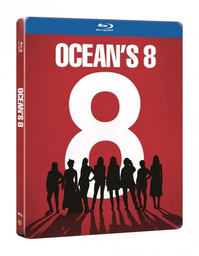 Ocean's 8: Az évszázad átverése - Steelbook - Blu-ray