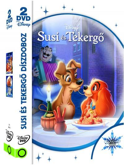 Susi és Tekergő díszdoboz - 2 DVD