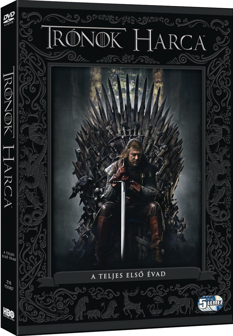Trónok harca - 1. évad - DVD