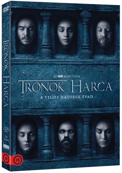 Trónok harca - 6. évad - DVD